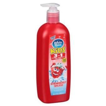Sữa tắm gội dành cho trẻ em White Rain Strawberry Splash 783 ml
