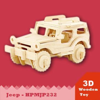 Mô hình 3D Xe JEEP- HPMJP232