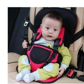 Đai an toàn tiện lợi cho bé ngồi xe ô tô ( đỏ )