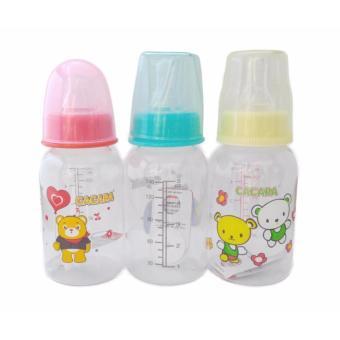 Combo 3 bình sữa 140ml cho bé yêu ( màu ngẫu nhiên )