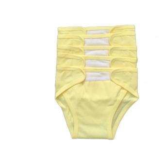 Tã vải dán Hello B&B Màu size L - 5 cái/bịch - màu vàng