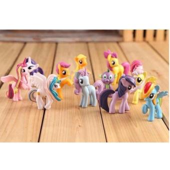 Set 12 chú ngựa Pony
