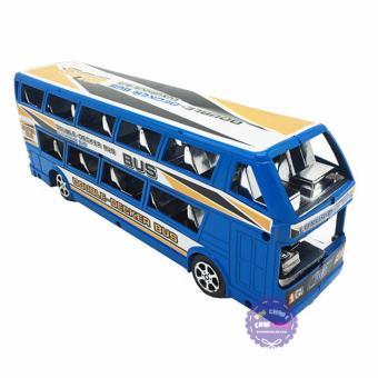 Đồ chơi xe buýt 2 tầng chạy trớn
