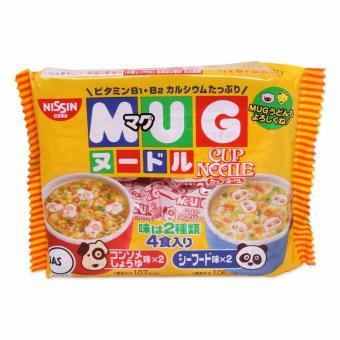 Mì tôm tập ăn MUG NISSIN Nhật Bản