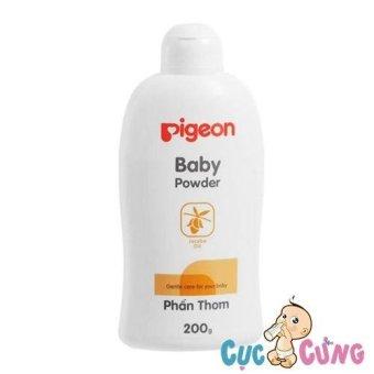 Phấn thơm Pigeon cho bé 200g