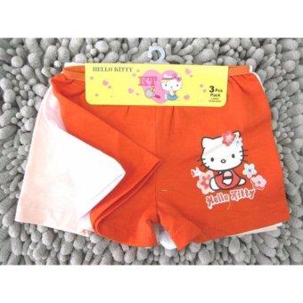 sét 3 quần đùi chíp kitty bé gái