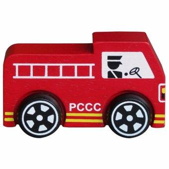Đồ chơi gỗ xe cứu hỏa (62282)