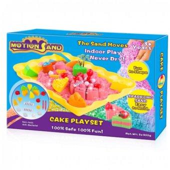 Bộ đồ chơi cát tạo hình bánh sinh nhật