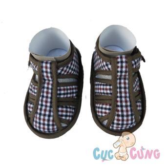 Giày tập đi Fany GV6 _ 150 - màu nâu