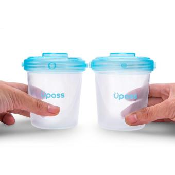 Bộ 6 hộp trữ sữa mẹ, đựng thức ăn, sữa bột cho bé UPASS Malaysia