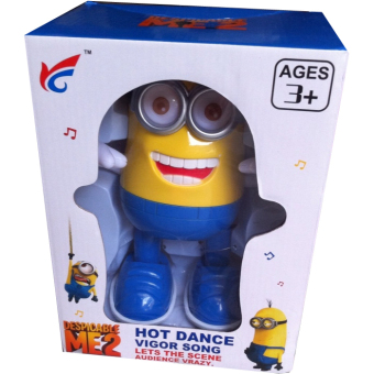 Minions biết nhảy và biết hát (Vàng phối xanh)