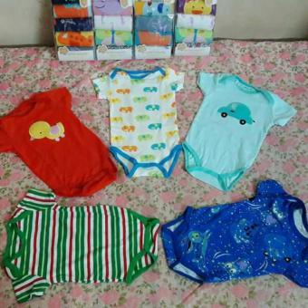 Bộ 5 body áo liền quần cho bé