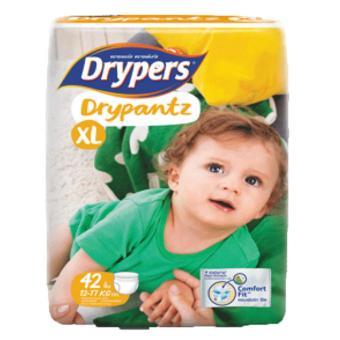 Tã quần Drypers Drypantz XL.42 (12-17kg)