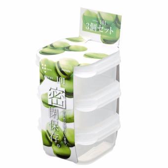 Bộ 3 hộp trữ đồ ăn dặm cho bé 190ml inomata Nhật