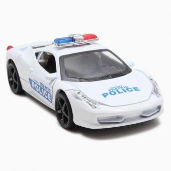 Xe ô tô cảnh sát phát nhạc, phát sáng cho bé