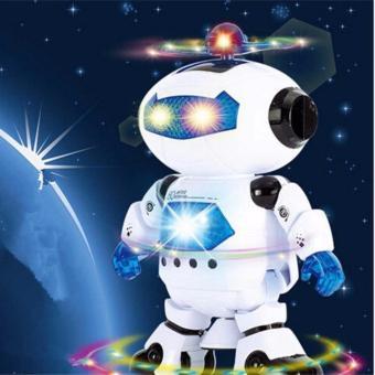 Siêu nhân Robot thông minh nhảy múa theo nhạc (Xanh)