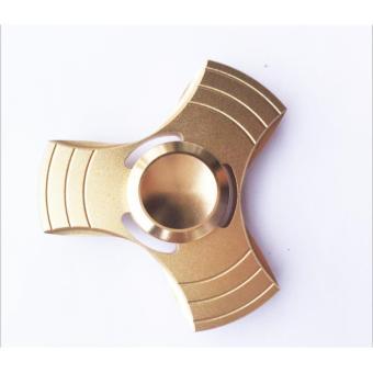 Con quay 3 cánh Fidget Spinner không ma sát xả stress màu vàng( Hàng cao cấp loại 1)