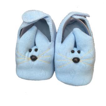 Giày chuột Hello B&B cho bé sơ sinh số 2 màu xanh dương