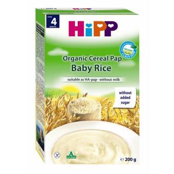 Bột ăn dặm HIPP Gạo nhũ nhi - Hộp 200g