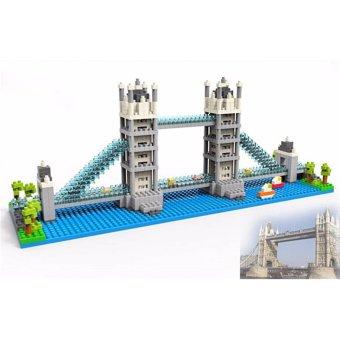Đồ chơi lắp ráp 3D mô hình London Bridge
