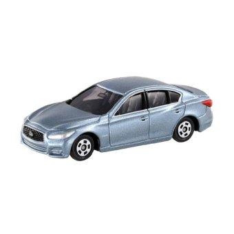 Xe ô tô mô hình Tomica Nissan Skyline 2013 Silver ( tỷ lệ 1:66 )