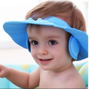 Mũ-nón tắm có vành che tai cho bé