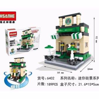 Bộ Ghép Hình Mô Hình Nhà Hàng Coffee 6402