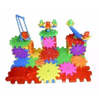 Bộ đồ chơi lắp ghép bánh răng Funy Bricks đa năng