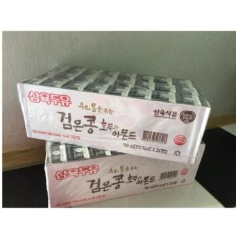 Combo 2 Thùng Sữa Óc Chó Hạnh Nhân Đậu Đen Sahmyook Hàn Quốc 190ml