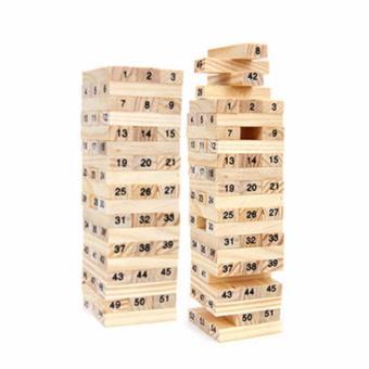 Bộ 2 Bộ trò chơi rút gỗ thông minh