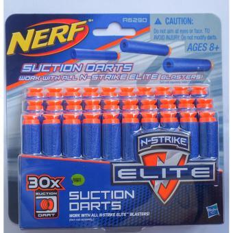 Đạn hít đồ chơi an toàn bằng xốp chính hãng Hasbro 30 viên Suction Darts dành cho dòng Nerf N-Strike Elite