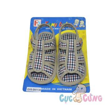 Giày tập đi Fany GV8 _ 130 - màu nâu