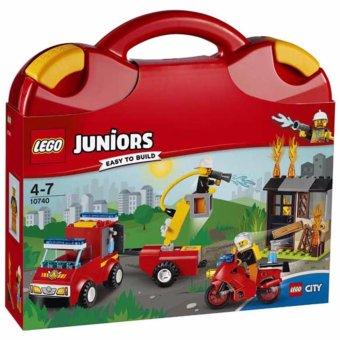 Vali LEGO Juinor Tuần Tra Cứu Hỏa 10740 (48 chi tiết)