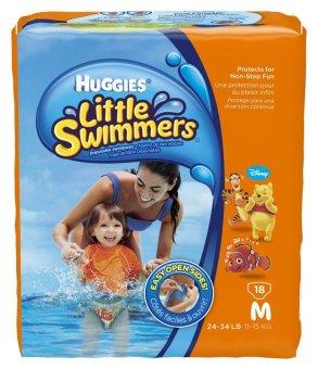 Tã quần dành cho bé đi bơi Huggies M18