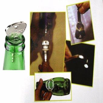 Đạo cụ ảo thuật: Với trò chìa khòa to lọt qua cổ chai bia thông thường