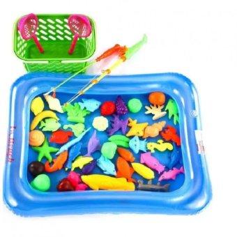 Bể phao câu cá cho trẻ em (Xanh)