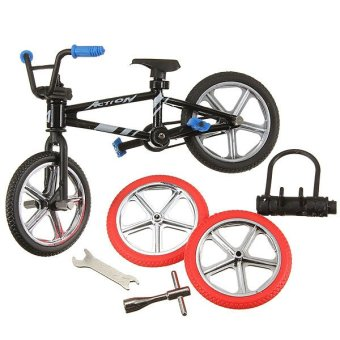 New finger mountain fuctional bicycle model set bike bmx boys creative gift toy - Intl
