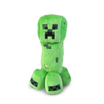Children favorite cartoon toys Minecraft Creeper 7' Plush Green - intl