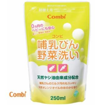 Dung dịch rửa bình sữa rau quả Combi 250ml 5796