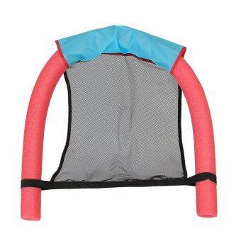 Learn Swimming Pool Seats Amazing Bed Buoyancy Stick Noodle Pool Floating Chair Red - intl
