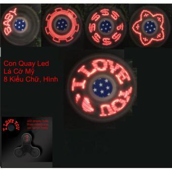 Mua Con Quay Giúp Giảm Stress Đèn LED (đen) giá tốt nhất