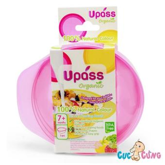 Chén ăn dặm UPASS - Organic (Hồng)