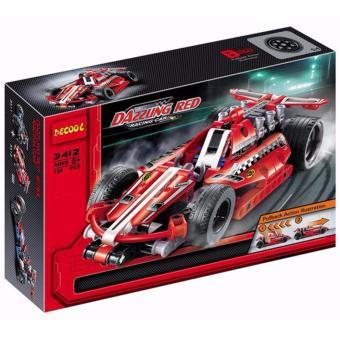 Bộ lắp ghép Decool mô hình xe đua 3412