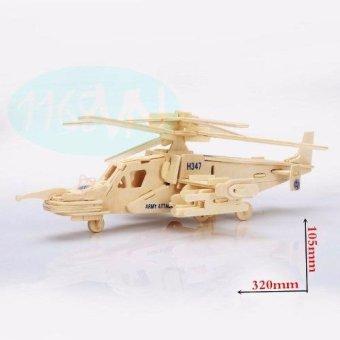 Bộ ghép hình 3D máy bay 02