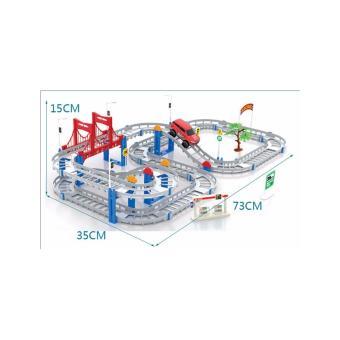 Bộ đồ chơi đường đua tàu lượn 56 chi tiết