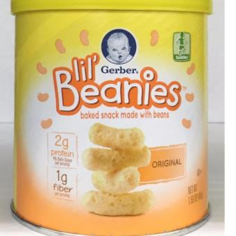 Gerber Baked Snack Made With Beans Original 1.59oz 45g