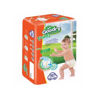 Mua Bộ 2 bịch Tã quần Goodry size XXL (15-19kg) 30 miếng(2*30) giá tốt nhất
