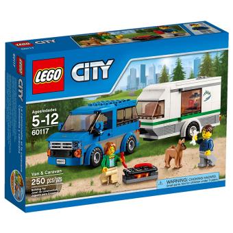 Hộp LEGO City 60117 Xe Lưu Động Dã Ngoại 250 chi tiết
