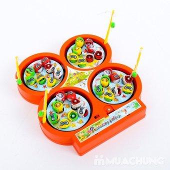 Bộ đồ chơi câu cá 4 hồ Cucre cho bé