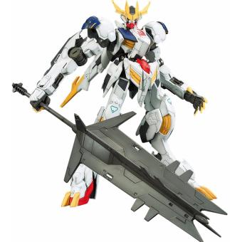 Mô hình lắp ráp BANDAI 1/100 GUNDAM IRON BLOODED ORPHANS Gundam Barbatos Lupus Rex + Action Base